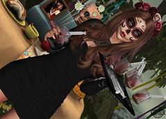 LOTD 294 (Carol Newall) Tags: vanillabae glamaffair sintiklia chicchicacrate liquence offering blood mexican equal10 blackfair salem arcade blog blogger alme flower virtual second life beautiful cute