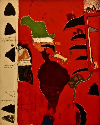 The Reconstitution (1960) - Robert B.Kitaj (1932- 2007)