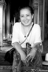 180726-116 Smile of love (clamato39) Tags: angkor angkorwat cambodge cambodia asia asie portrait noiretblanc blackandwhite bw monochrome
