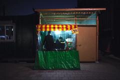 Snack (OzGFK) Tags: 35mm asia korea nikkor nikon seoul analog city film urban lomo800 lomography800color night streetfood stall streetstall foodstall 용문역 yongmun