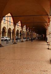 Un Classico Bolognese... (hmeyvalian) Tags: portici colonnette marmo atrium arcade arcate santamariadeiservi bologna emiliaromagna italia italie italy