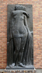 Muse - relief sculpture of a woman, by Antoine Bourdelle (Monceau) Tags: muse relief sculpture woman antoinebourdelle