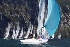 HDW Cup 2018 in Torbole (Topher_MUC) Tags: drachen drachenklasse sailing segeln segelsport regatta gardasee italy trentino circolovelatorbole hansdetmar wagnercup
