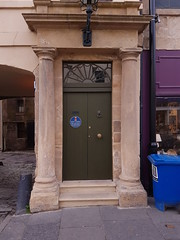 St Catherine St, part of (170) (Daniel Muirhead) Tags: scotland cupar st catherine street burgh chambers doorway