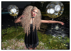 LuceMia - On9 Event (2018 SAFAS AWARD WINNER - Favorite Blogger - MISS ) Tags: on9event kibdesigns {letituier} haysuriza anna dress hair lory glass unisex sl secondlife mesh fashion creations blog beauty hud colors models lucemia
