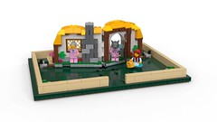 LEGO Ideas Pop-Up Book Revealed (buriedbybricks.com) Tags: 21315ideaspopupbook ideas popup book 21315 littleredridinghood bigbadwolf jackandthebeanstalk fairytale grimm