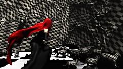 Cat's Nightmare (tralala.loordes) Tags: cats dreams catdreams secondlife sl virtualreality cinphul koronary veil redveil checkered gilda ve maai avatar fantasy slblogging meshcreationssl fantasyartblogging flickrblogging slfashionblog tralalaloordes ininaka ironwood hills eve slartisticblogging