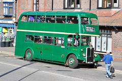 RLH48 - AEC Regent III RT at London Transport Museum's Heritage Day