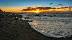 Here Comes The Flood (Jörg Bergmann) Tags: 2018 autumn crepúsculo herbst islascanarias lumixg20f17 lagomera panasonic20mmf17 panasonicdmcgf7 pancake sonnenuntergang vallegranrey atardecer beach canarias canaryislands clouds coast españa fall footsteps gf7 gomera lumix lumix20mm m43 mft micro43 microfourthirds november ocean otoño panasonic puestadesol rocks sand sea seascape seaside spain stitched sun sundown sunset surf travel vacation wallpaper water μ43
