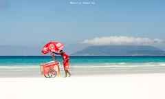 Playa - Brasil (NatyCeballos) Tags: playa sol arena mar brasil beach sun celeste celest agua water nikond7000