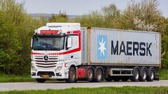 BX97299 (18.05.02, Motorvej 501, Viby J)DSC_6040_Balancer (Lav Ulv) Tags: 246358 mercedesbenz actros actros963 2014 actros2545 euro6 e6 6x22 white container maersk truck truckphoto truckspotter traffic trafik verkehr cabover street road strasse vej commercialvehicles erhvervskøretøjer danmark denmark dänemark danishhauliers danskefirmaer danskevognmænd vehicle køretøj aarhus lkw lastbil lastvogn camion vehicule coe danemark danimarca lorry autocarra danoise vrachtwagen motorway autobahn motorvej vibyj highway hiway autostrada trækker hauler zugmaschine tractorunit tractor artic articulated semi sattelzug auflieger trailer sattelschlepper vogntog oplegger
