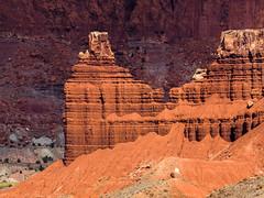 Chimney Rock (xjblue) Tags: 2018 southernutah utah desert fall trip landscape capitolreef capitolreefnationalpark olympus 50200mmswd
