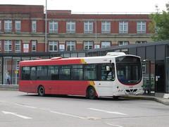 Rosso 1606 (YN06NXY) 01092018 (Rossendalian2013) Tags: transdevblazefield transdev rossendaletransport rosso bus bury interchange busstation scania l94ub wright solar yn06nxy readingbuses