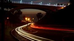 Puente Villena by night (Carlos Ramirez Alva) Tags: time exposition long night noche 2870mm a7m2 sony peru lima miraflores villena puente