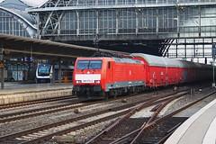 189-075 passing Bremen (Karel1999 Over Two Million views ,many thanks) Tags: vlak zug locomotives trains railway railroad bremen germany station