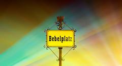Bebelplatz (FH | Photography) Tags: berlin deutschland europa fol festivaloflights event hauptstadt licht wahrzeichen sehenswürdigkeit tourismus nachts projektion lichteffekt lichtstrahlen veranstaltung mitte bunt bebelplatz himmel schild platz leuchten erleuchtung
