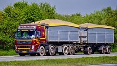 CW93192 (18.05.08, Motorvej 501, Viby J)DSC_7193_Balancer (Lav Ulv) Tags: 247511 rigid trailer kaiovekastbjergogsønner brown volvo volvofm 2012 fm500 e5 euro5 8x2 truck truckphoto truckspotter traffic trafik verkehr cabover street road strasse vej commercialvehicles erhvervskøretøjer danmark denmark dänemark danishhauliers danskefirmaer danskevognmænd vehicle køretøj aarhus lkw lastbil lastvogn camion vehicule coe danemark danimarca lorry autocarra danoise vrachtwagen motorway autobahn motorvej vibyj highway hiway autostrada