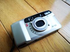 Ricoh AF80 - compact 35mm film camera (1) (nefotografas) Tags: ricohaf80 35mmfilm filmcamera 30mmlens