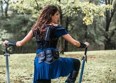 Rising to Battle (The Townshend) Tags: makanda illinois unitedstates us dnd fantasy portrait wonderwoman eowyn larp chroniclesoftherealm badass liveactionroleplay