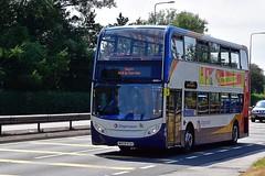 MX09 KTA (Martin's Online Photography) Tags: stagecoach bus transport public adl e400 euro5 a580 lorry leigh nikon nikond7200