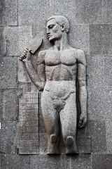 Arte Deco italiana (skipmoore) Tags: rome artdeco sculpture relief
