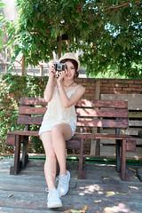 DSC_4866 (錢龍) Tags: 張倫甄 光復新村 外拍 時裝 眷村 nikon d850 cute girl 人像 甜美 長髮
