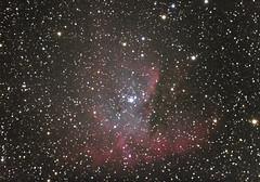 NGC 281 (Pacman) (tbird0322) Tags: astronomy astrophotography ngc canon celestron nebula