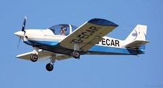 Robin HR-200-120B G-ECAR Lee on Solent Airfield 2018 (SupaSmokey) Tags: robin hr200120b gecar lee solent airfield 2018