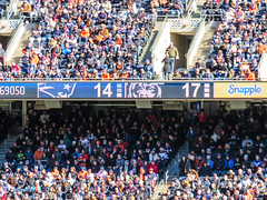 pats 14 bears 17 (timp37) Tags: chicago bears score scoreboard soldier field football illinois october 2018 nfl patriots new england crowd