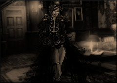 (♥ Second Life) Tags: irresistible dead lace outfit halloween second life fashion bloodjewel island costumes exxess gin irrisistible