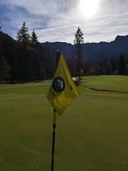 Eine Runde Golf am Tag der Fahne!