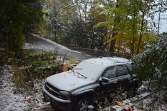 2018_1027Oh-No-Snow0001 (maineman152 (Lou)) Tags: snow snowing snowstorm octobersnowstorm octobersnow weather badweather nature naturephoto naturephotography october maine