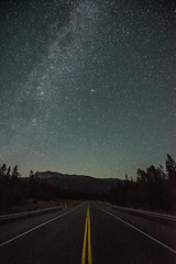 Journey Without End (JeffMoreau) Tags: jasper national park alberta canada sony a7ii zeiss long exposure andromeda milky way galaxy road street astrophotography