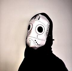 Leather mask (ANTONIOM.) Tags: facemask cosplay burningman carnevale leathercraft handmade steampunk mask leather leathermask