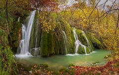 Panorámica Cascadas de la Toberia en Andoin - Araba (Iñigo Escalante) Tags: andoin cascadas waterfalls araba alaba euskadi nature naturaleza pais vasco cascada agua otoño