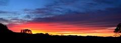 2018_0922Sunset-Pano0001 (maineman152 (Lou)) Tags: panorama sunsetpanorama sunsetsky sunsetclouds aftersunset afterglow aftersunsetpanorama sky skycolor skycolors skyscape skyscene nature naturephoto naturephotography fallequinox landscape landscapephotography landscapephoto fall autumn maine
