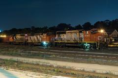 How The Night Moves (Joseph Bishop) Tags: cn cndundassubdivision 581 9543 emd gp402w brantford trains train track tracks railfan railroad railway rail rails