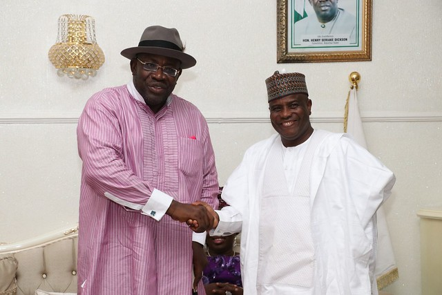 HSDickson- Condolence visit by By Sokoto State Governor AMINU TAMBUWAL. 17th September 2018
