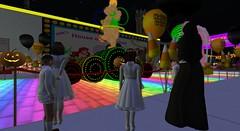 Sarah's Magic Kingdom (cadeSL) Tags: school sl secondlife second life virtual world trip theme park disney magic kingdom sarahs fun parade halloween children boys girls nun catholic boarding rp role play