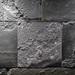 Close Up on a Illuminated  Gray Stone Wall