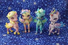 The Aimerai herd (pullip_junk) Tags: aimeraidesigns bjd aimerai flyingseries missluna princessdaisy ladycomet lordflash