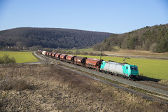 D HLG 185 607-9  Harrbach 22-02-2018 (peters452002) Tags: peters452002 railways railway railroad railroads rail clickcamera cargo harrbach bahn bayern duitsland ferrovia germany spoor spoorwegen eisenbahn etrain elok trains train trein treinen twop transportation traxx jalalspagestransportationalbum