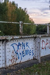 Dank Memes (d0mokun) Tags: blackcountry railway southstaffsline abandoned autumn bridge dankmemes graffiti sunset urbandecay urbanexploration urbanlandscape urbex westmidlands tipton england unitedkingdom gb