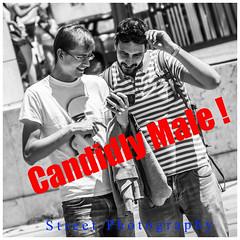 Candidly Male!  - Street Photography (FotoFling Scotland) Tags: lisbon jeans lisboa male nmp tourists candid album cover tite title