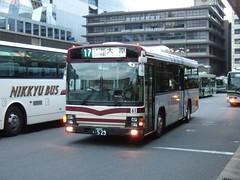 京都バス (izayuke_tarokaja) Tags: 京都バス 京阪グループ 幕車 エルガ isuzu jbus 京都産業大学 ラッピングバス