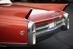Fins (Randy Durrum) Tags: caddy cadillac gm red fins convertible 1964 64 eldorado durrum nikon 5300 dayton kettering