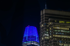 embarcadero center salesforce (pbo31) Tags: bayarea california nikon d810 color november 2018 boury pbo31 fall night dark black sanfrancisco city urban pier7 embarcadero skyline salesforce center contemporary architecture portman blue