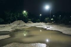 After rain (Frostroomhead) Tags: city park rain sand night fujifilm xpro1 16mm f14 fujinon wr r melitopol