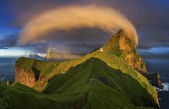 Jim Feldkamp (nabjqgoa97) Tags: ngpc2017editedbyjadesnowdone rainbow faroe islands kallur lighthouse tr¯llanes eysturoy faroeislands jim feldkamp