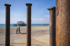 West Pier (grahambrown1965) Tags: ricohimagingcompanyltdpentaxk3ii ricoh pentax k3ii pentaxk3ii sigma 1020mm sigma1020mm brighton west pier piers westpier water sea beach shingle hove brightonandhove